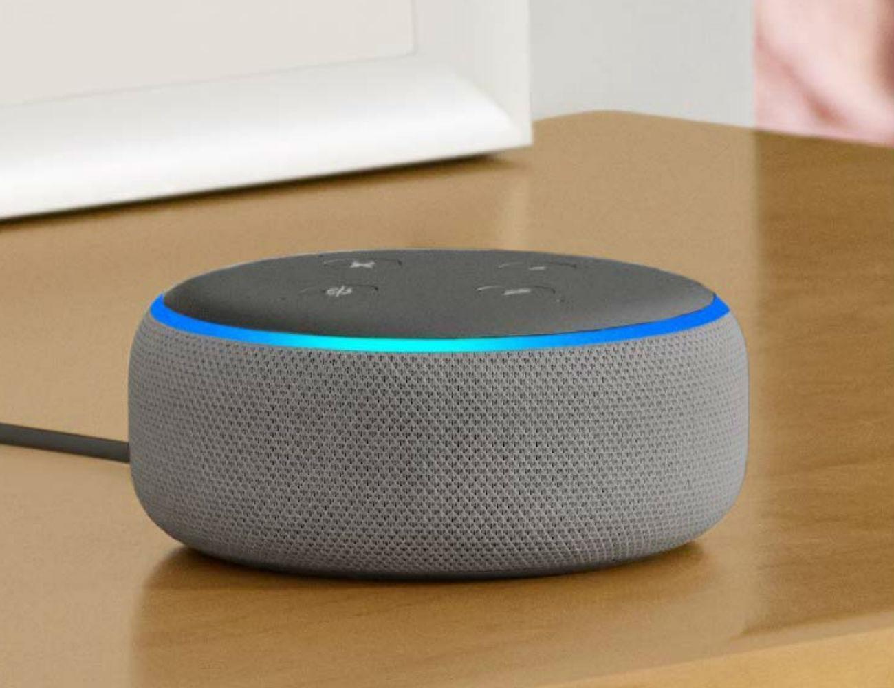 amazon echo dot 3rd gen smart speaker gadget flow. Black Bedroom Furniture Sets. Home Design Ideas