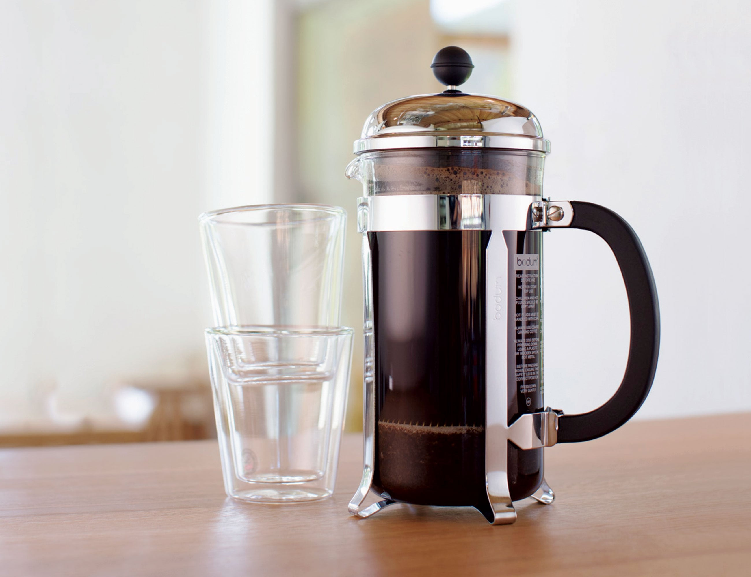 This coffee set from Bodum is the perfect gift for coffee lovers