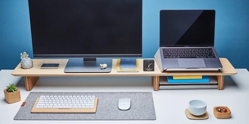 9 accesorios de escritorio para ayudarte a mantener un espacio de trabajo ordenado