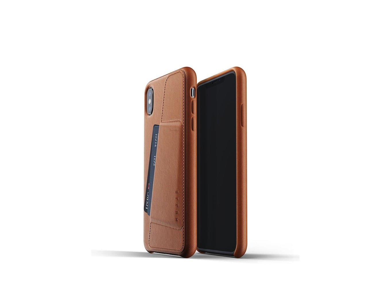 iPhone Xs Max Full Leather Wallet Case