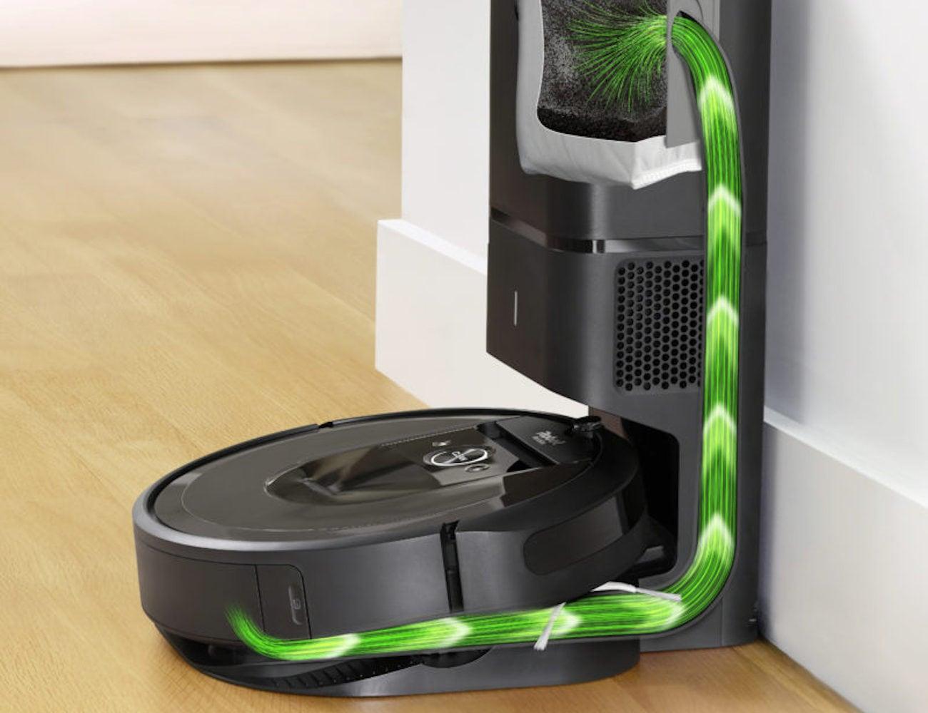 iRobot Roomba i7+ Self-Emptying Robot Vacuum