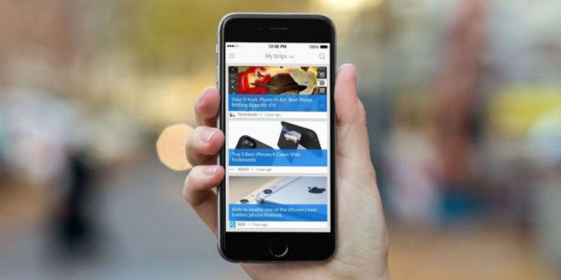 Drippler mobile apps