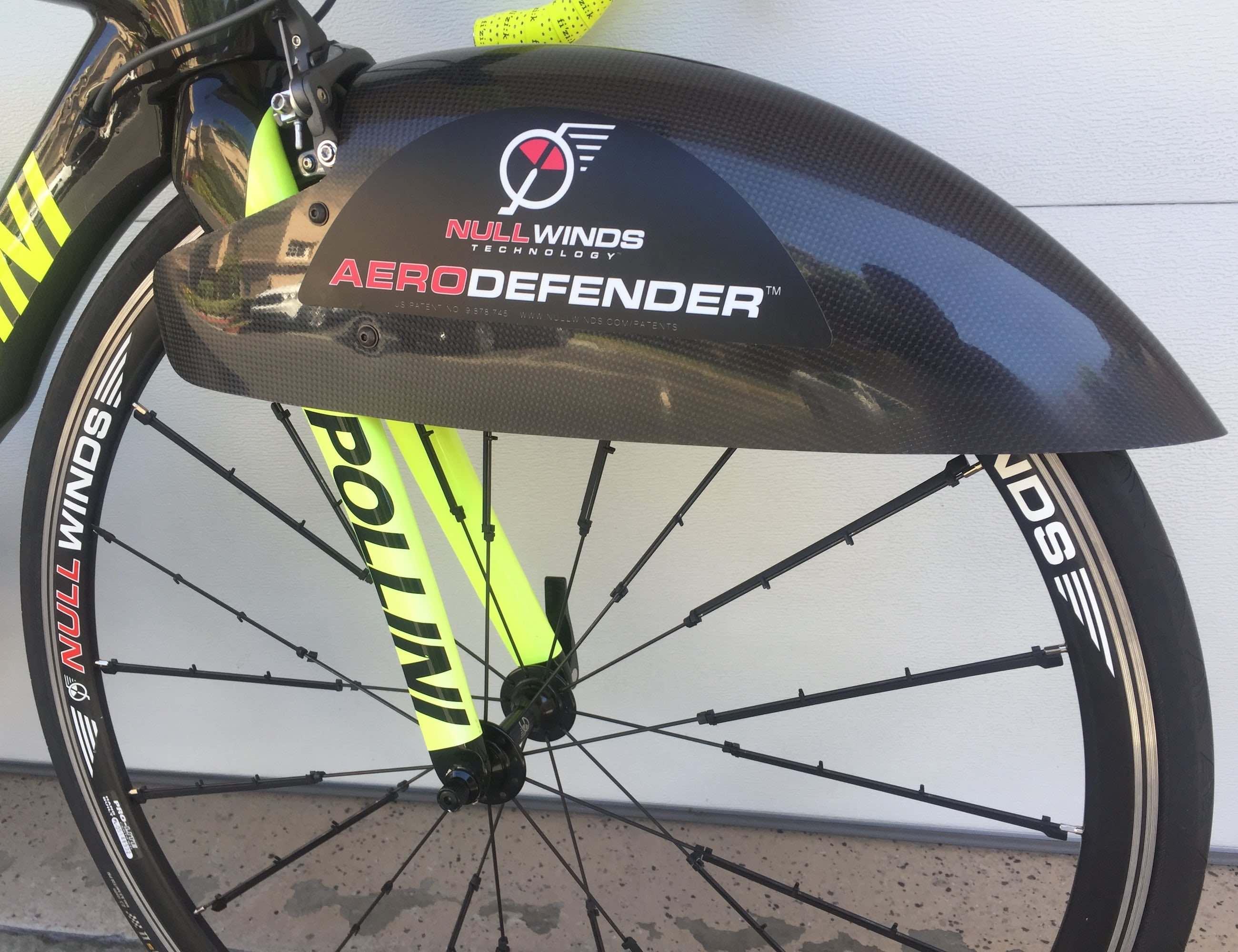 AERODEFENDER Bike Wheel Fairings