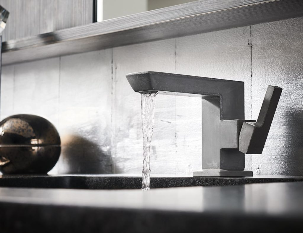 Brizo+Vettis+Concrete+Limited+Edition+Faucet+adds+a+work+of+art+to+your+home