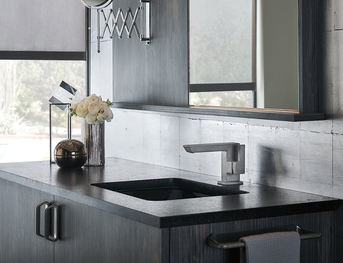 Brizo Vettis Concrete Limited Edition Faucet adds a work of art to your home