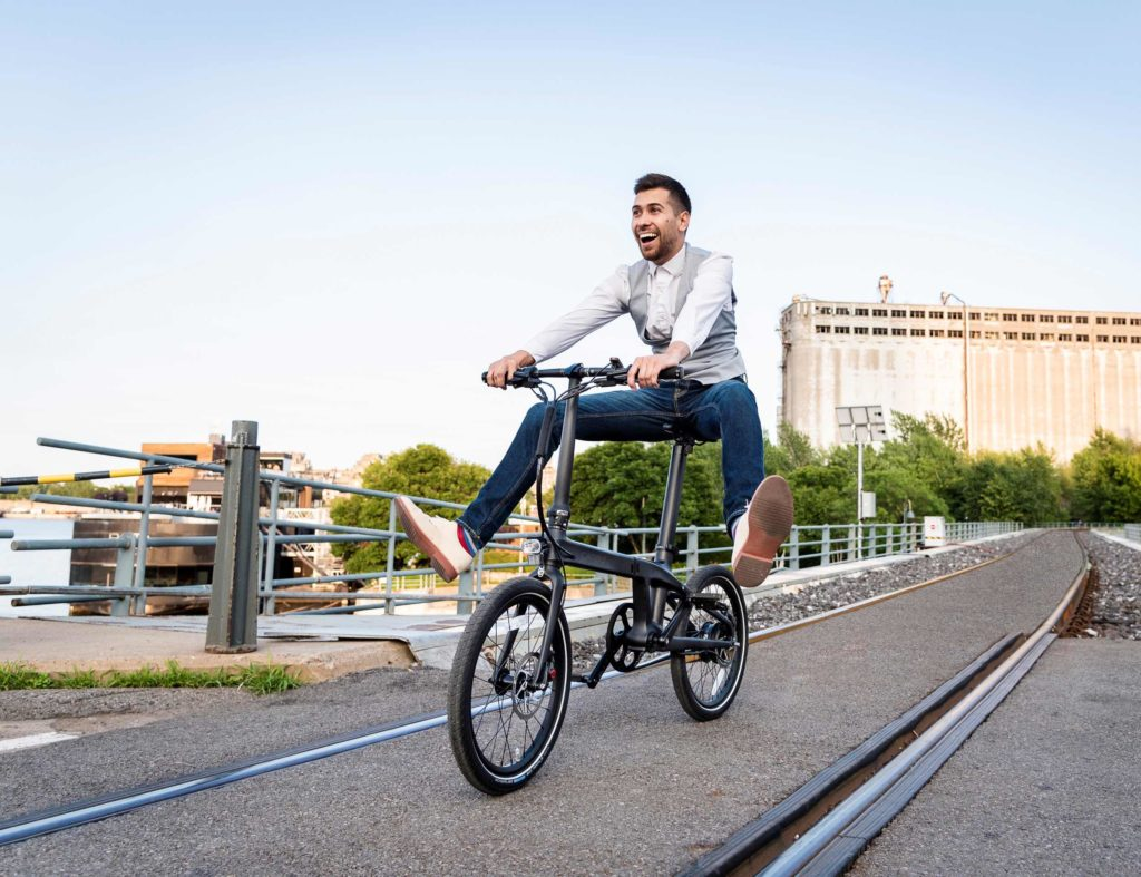 CARBO+Ultra+Light+Electric+Folding+Bike
