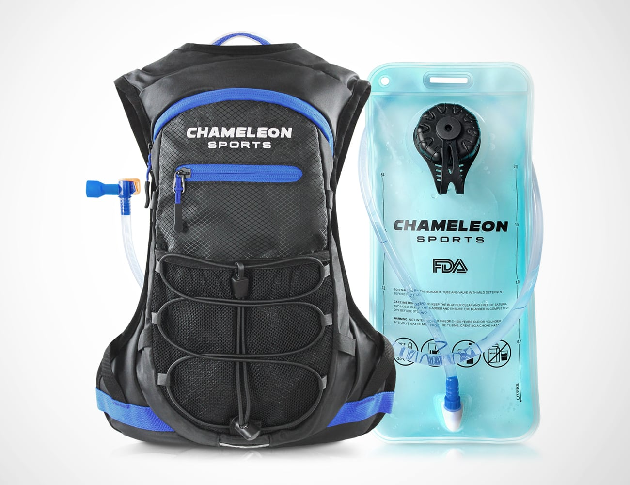 Chameleon Sports Lightweight Hydration Backpack