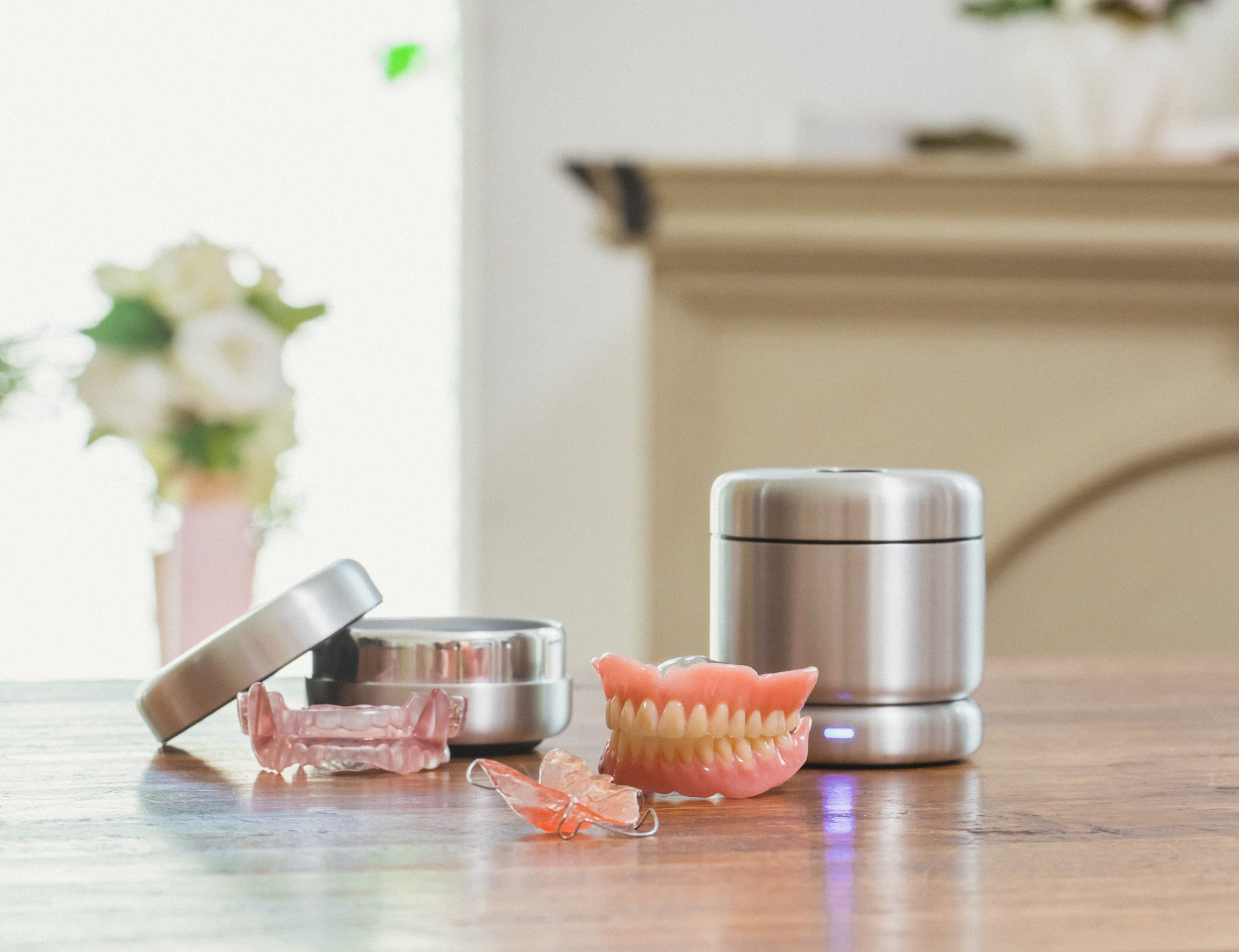 Clium Ultrasonic Oral Appliance Cleaner