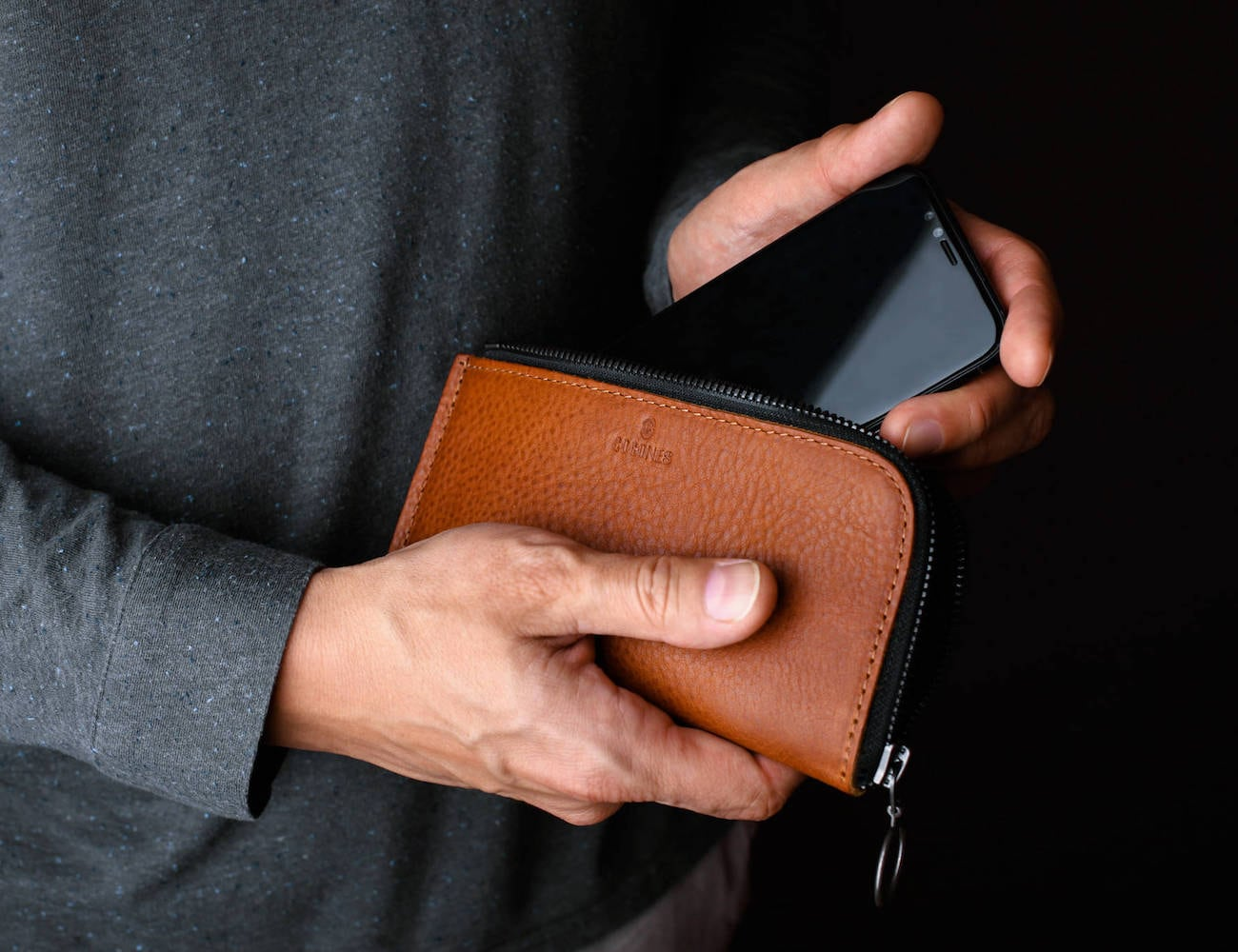 Cocones Leather Smartphone Wallet Case