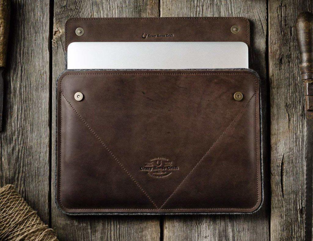 Crazy+Horse+Craft+Leather+MacBook+Pro+Case