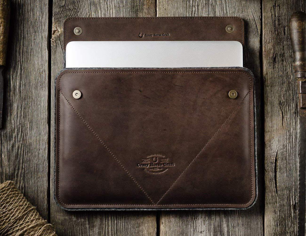Crazy Horse Craft Leather MacBook Pro Case