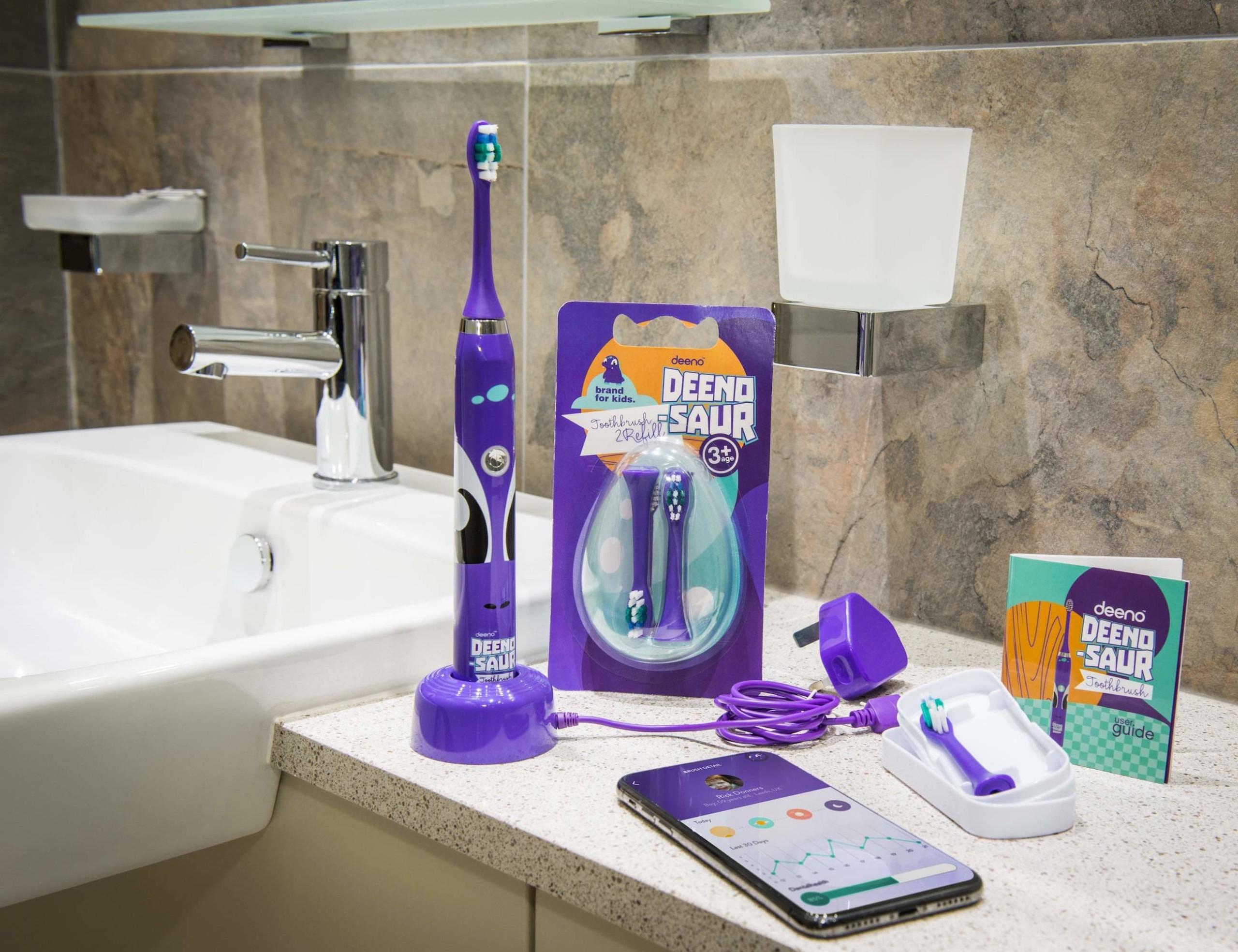 Deeno-saur Kids Smart Electric Toothbrush