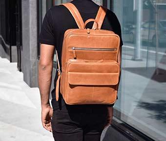 ERA81+Ultimate+Leather+Laptop+Bag