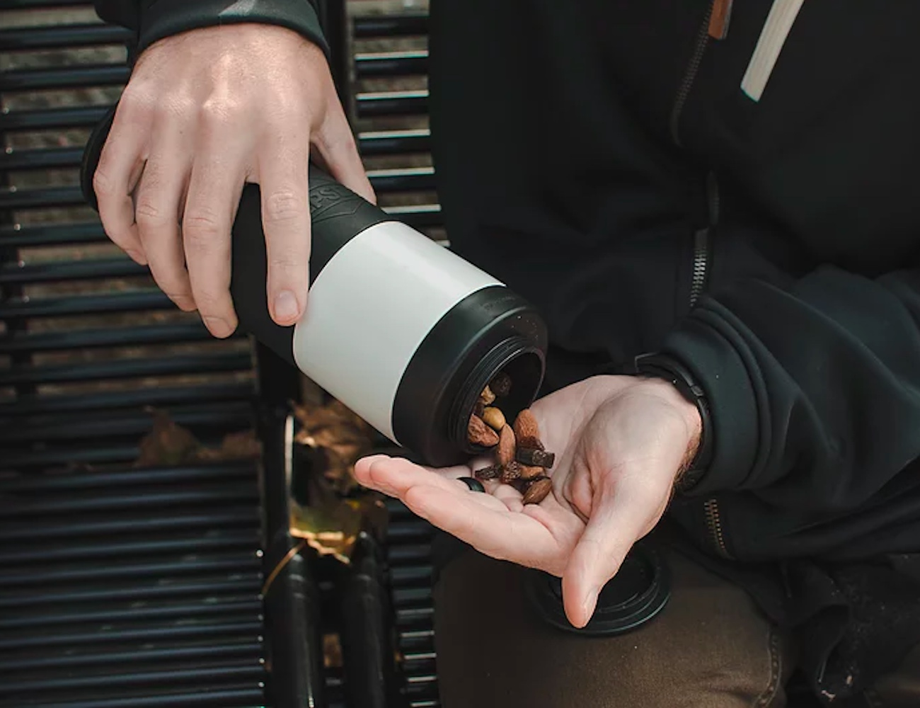FLPSDE Dual Chamber Water Bottle