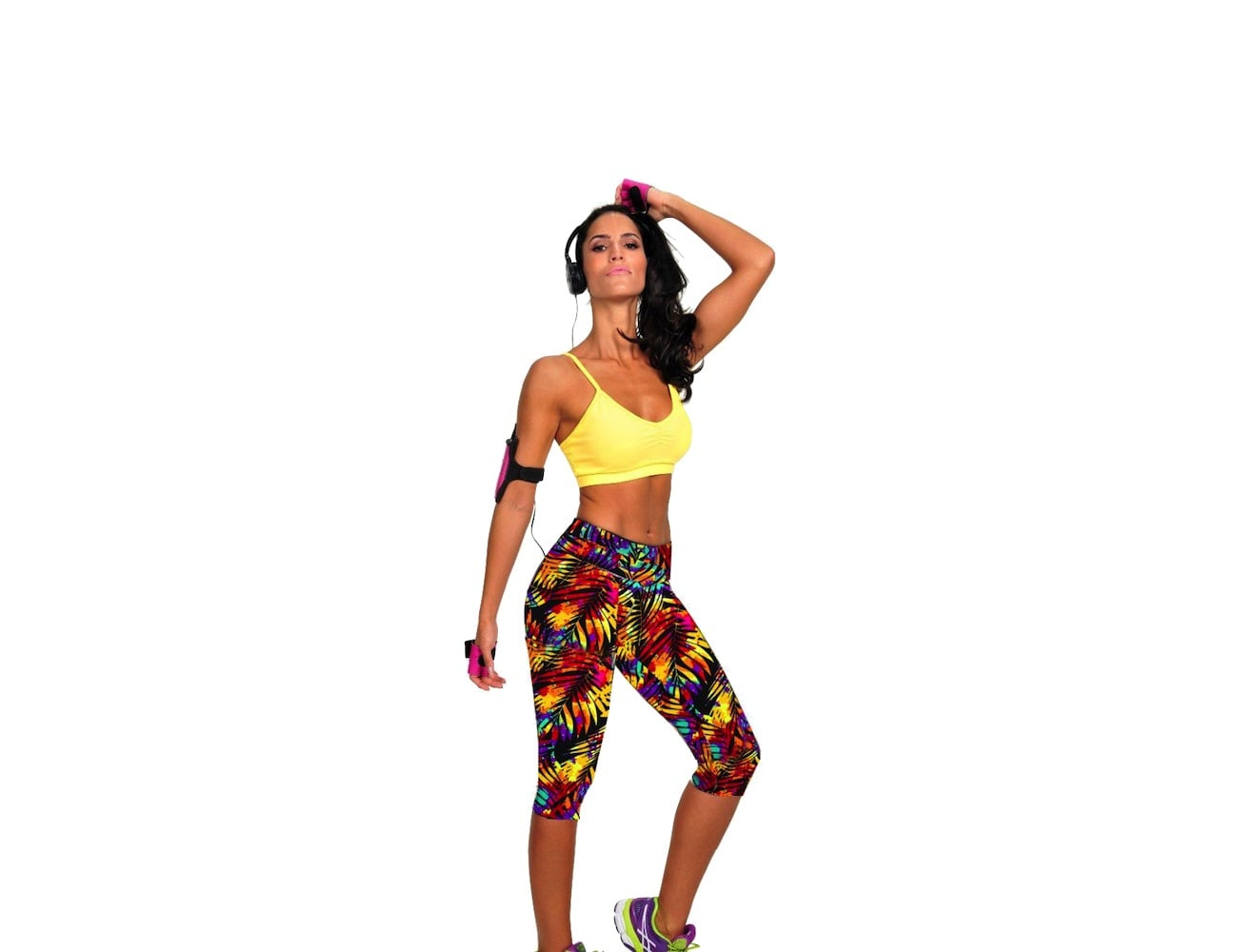 FitBod Colorful Mid Rise Leggings