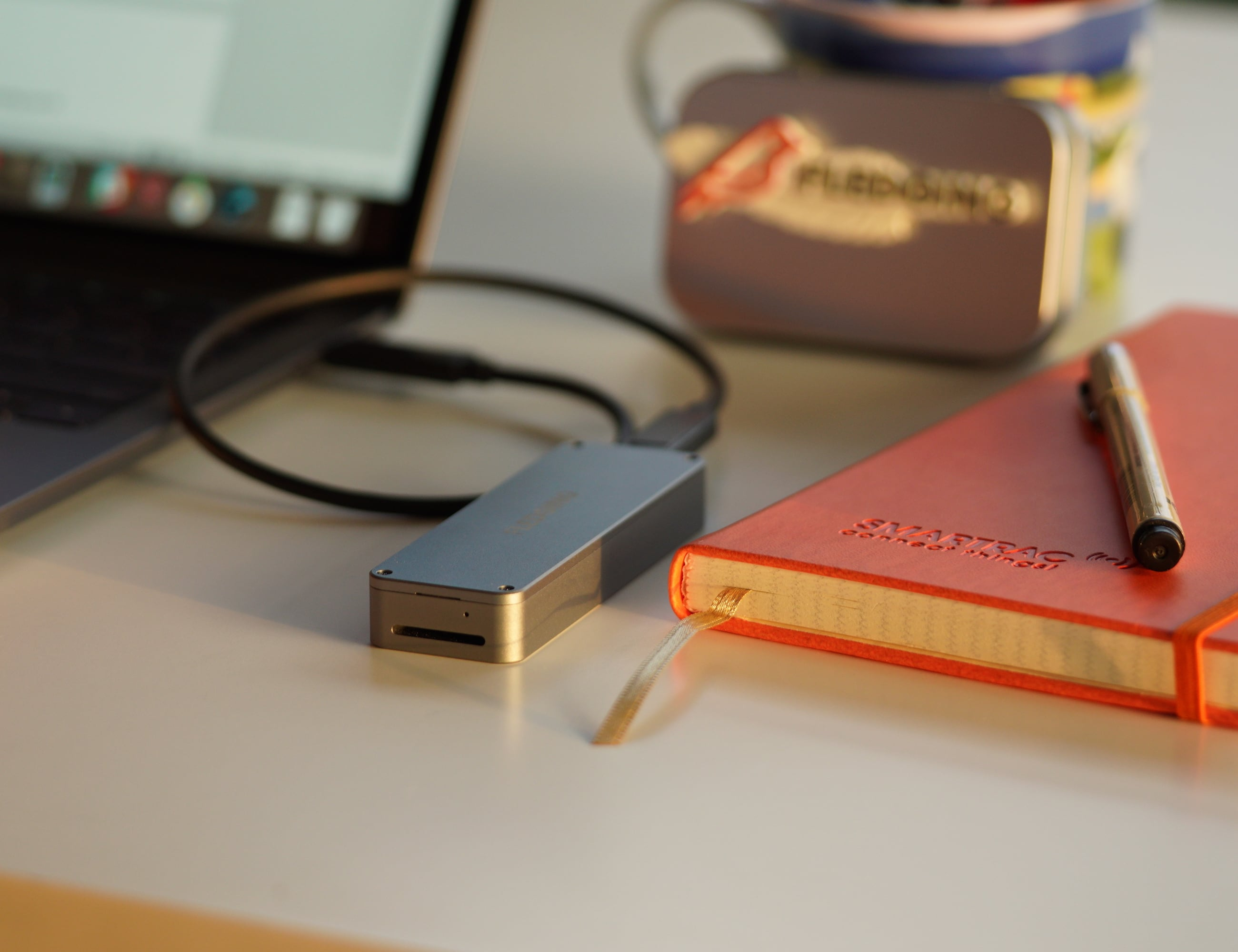 Fledging Shell Portable NVME SSD
