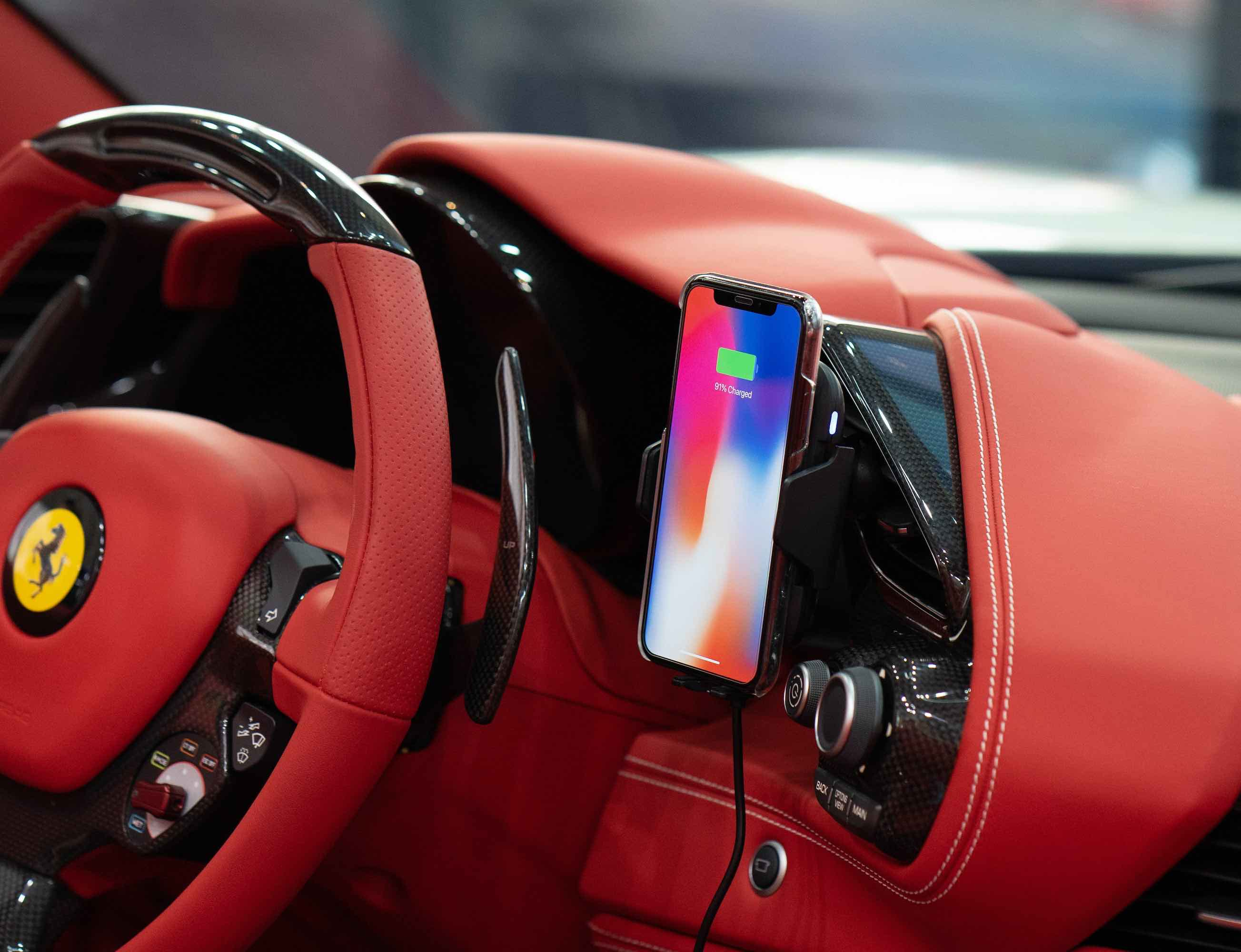 GAZEON Automatic Wireless Car Charger