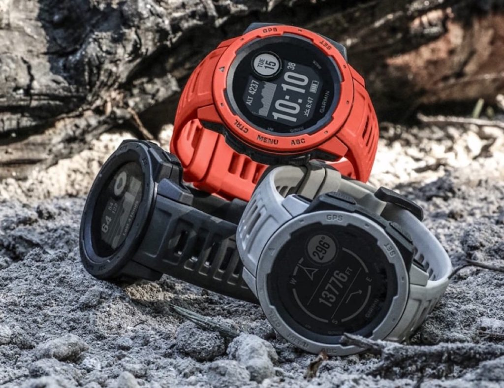 Garmin+Instinct+Rugged+GPS+Smartwatch
