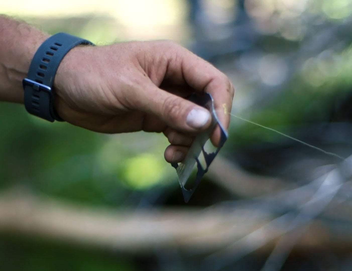 Glaucus Hand Line Fishing Survival Card