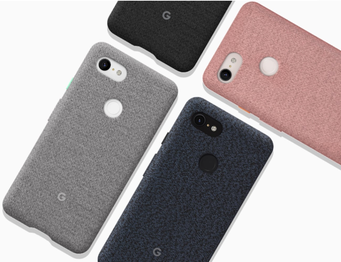 Google Fabric Pixel 3 Case