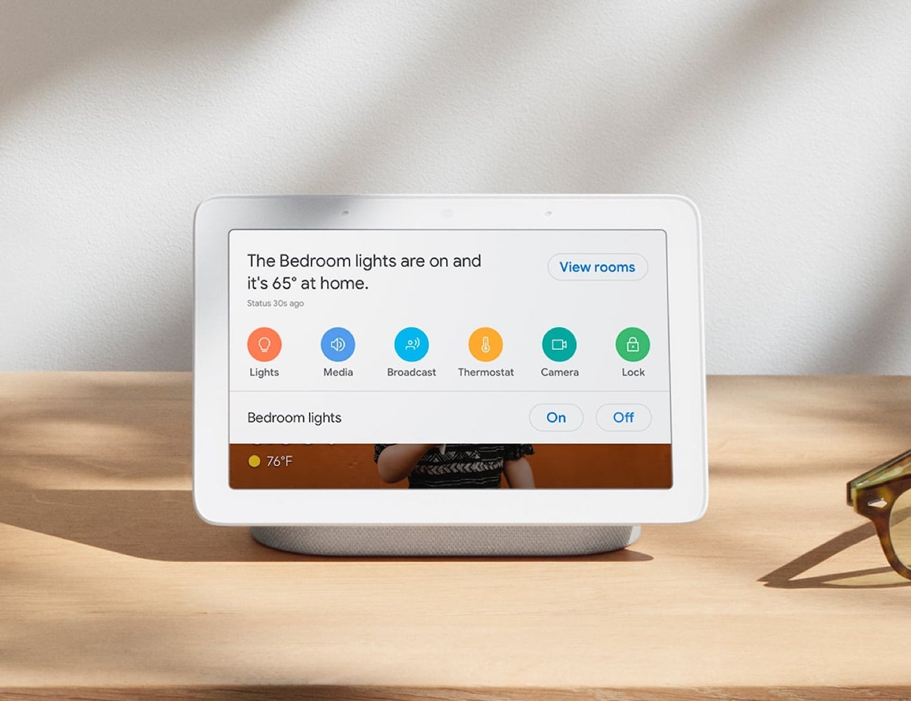 Nest Hub Smart Display gives you access to all your smart devices