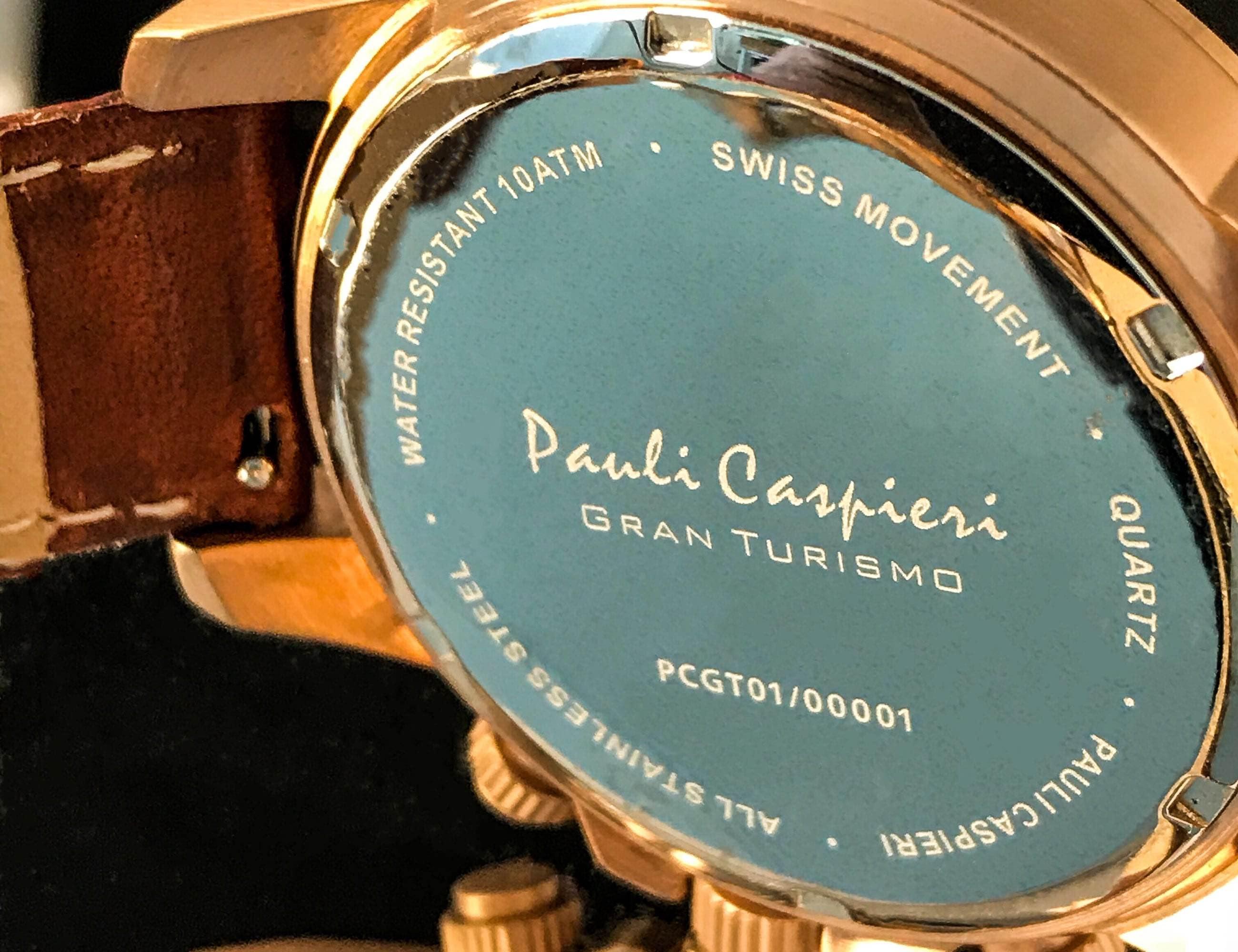 Gran Turismo Classic Chronograph Watch