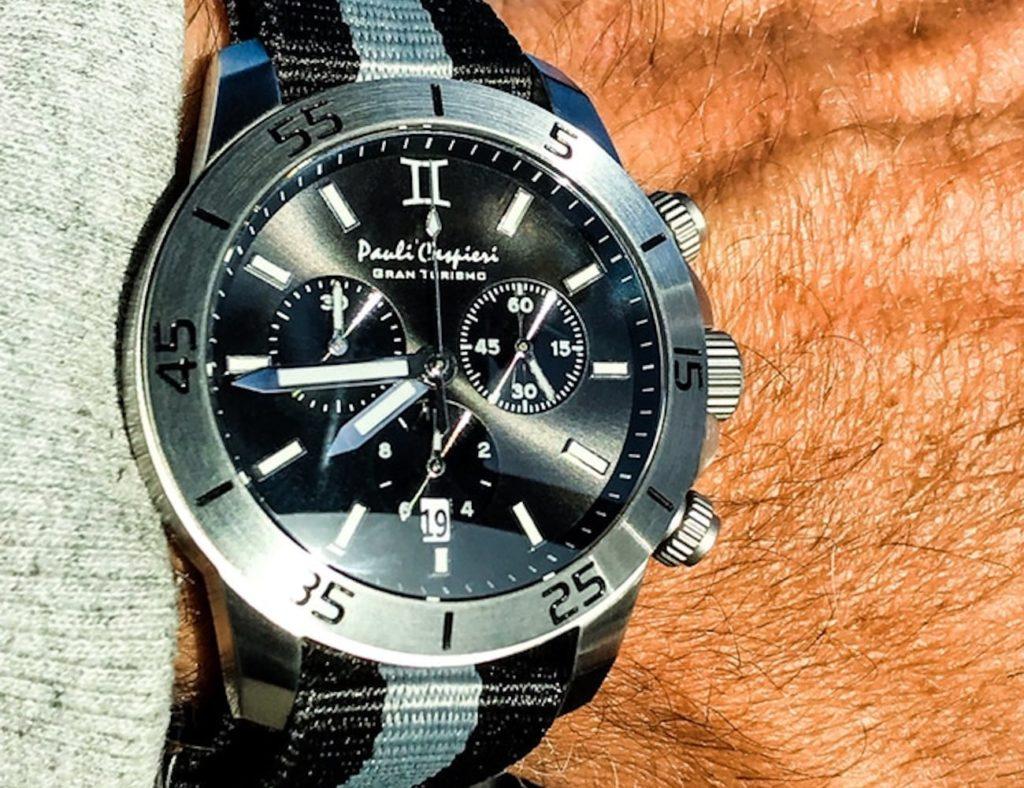 Gran+Turismo+Classic+Chronograph+Watch