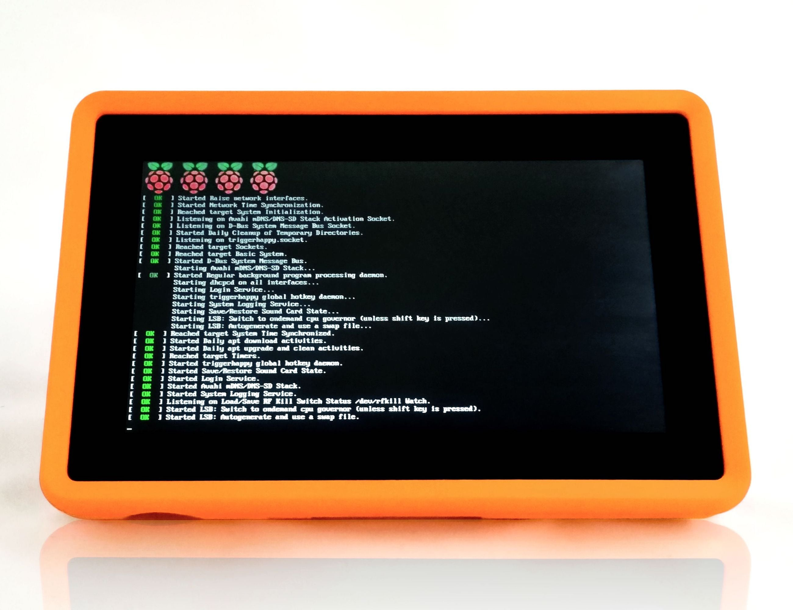 HackerTab Pro Industrial Raspberry Pi Tablet