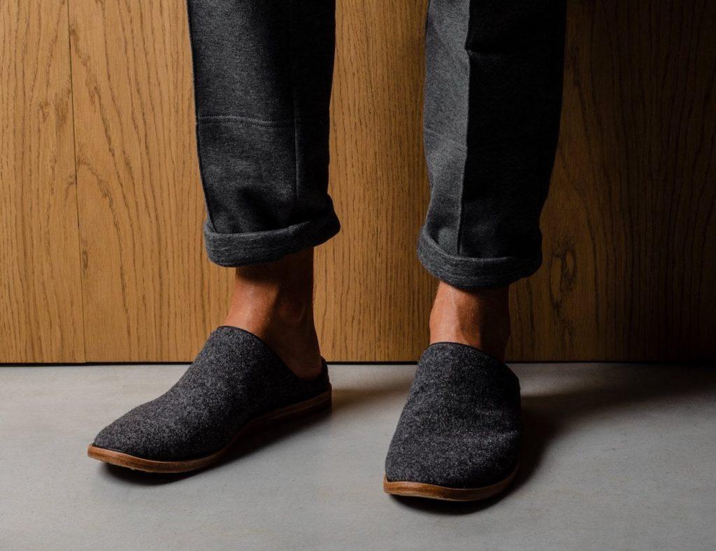 Hardgraft+In+%26%23038%3B+Out+Wool+Slip+Ons