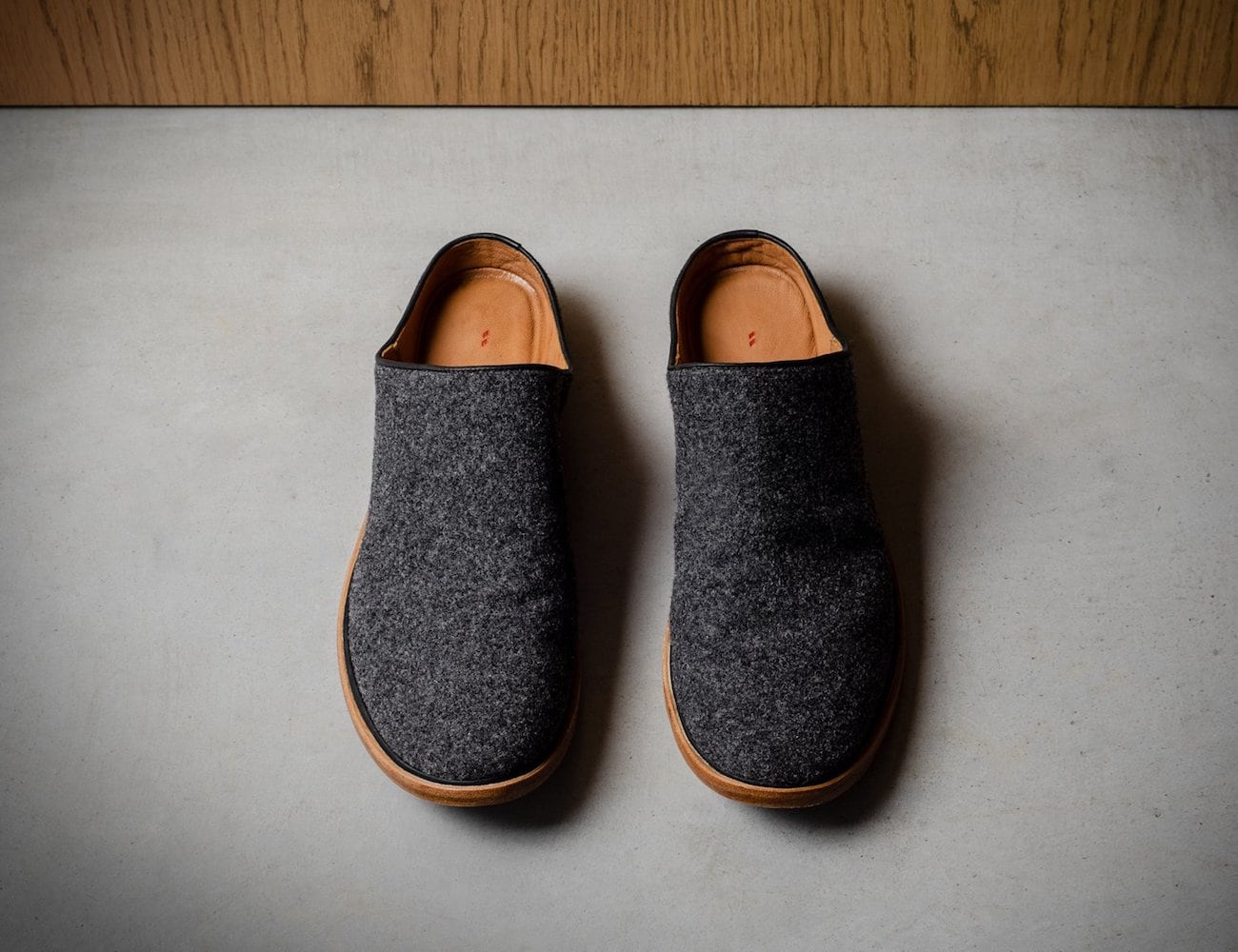 Hardgraft In & Out Wool Slip Ons