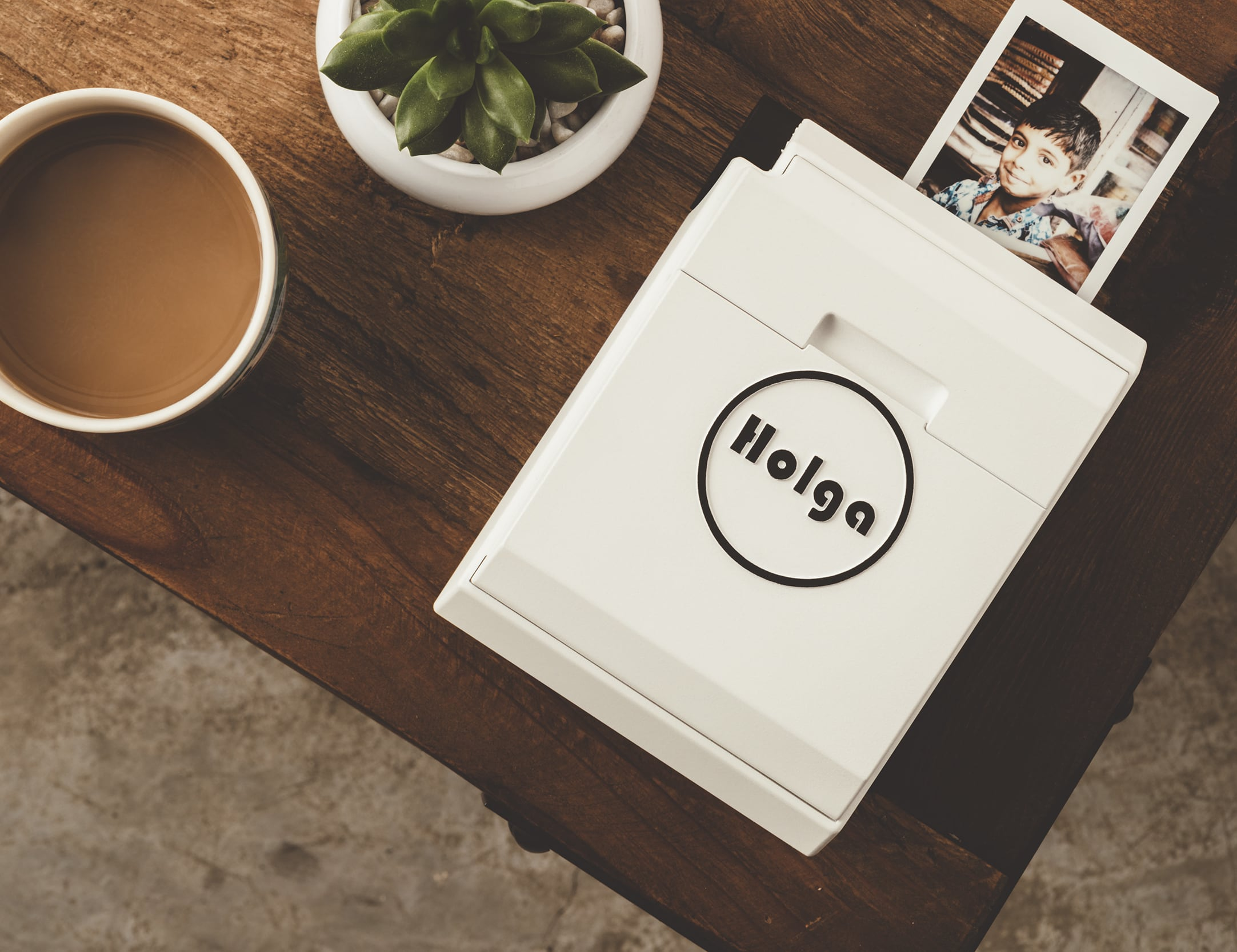 Holga Manual Mobile Printer