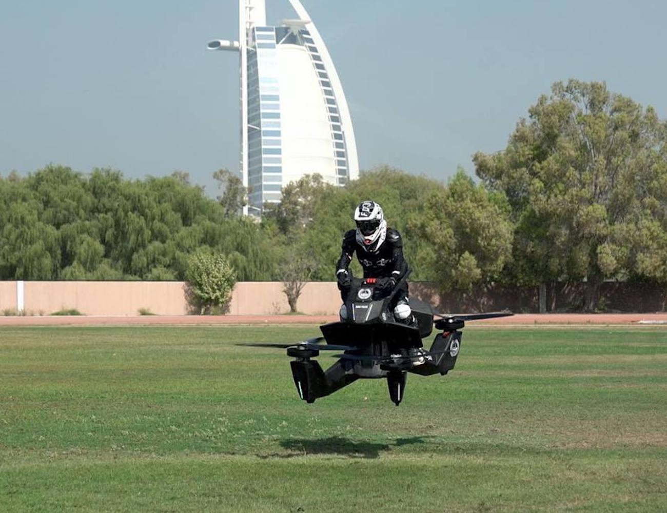 Hoversurf S3 eVTOL Hovebike Drone