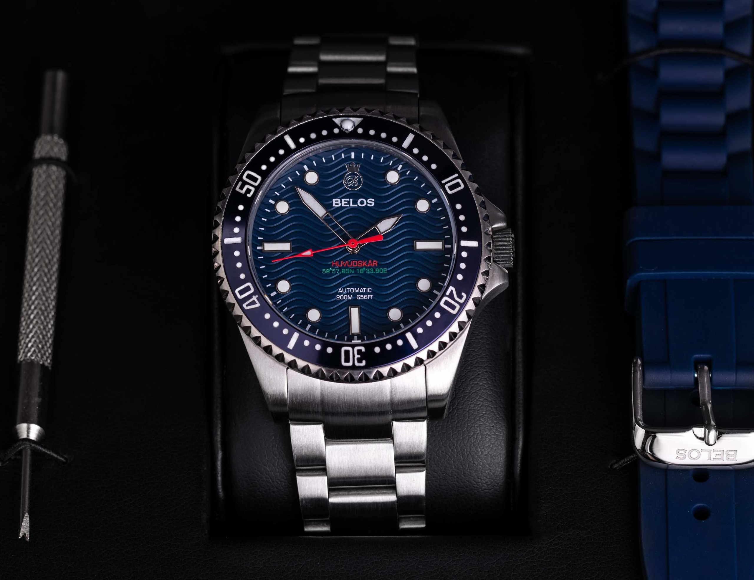 Huvudskär Automatic 40 Swedish Dive Watches