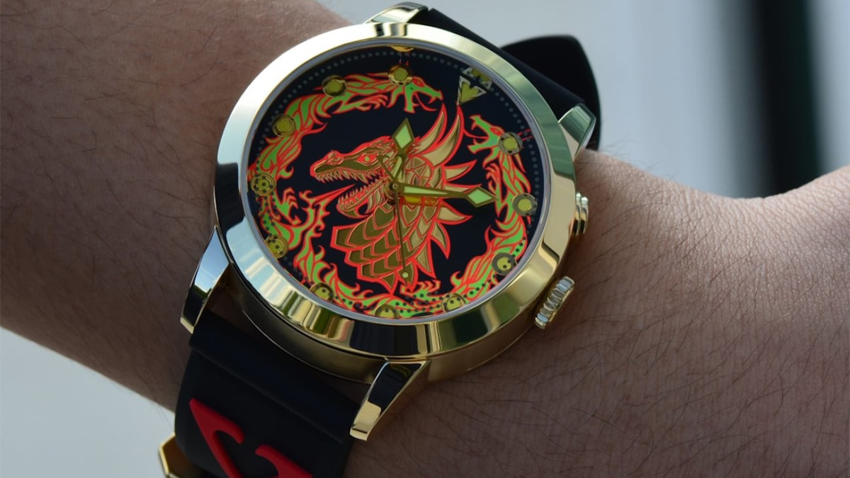 Invisibly Illuminated Wristwatches by Vaucanson