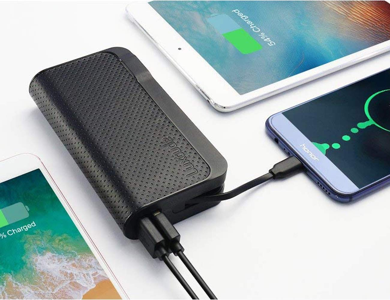 Luxtude GlobalTraveler 3-in-1 Portable Charger