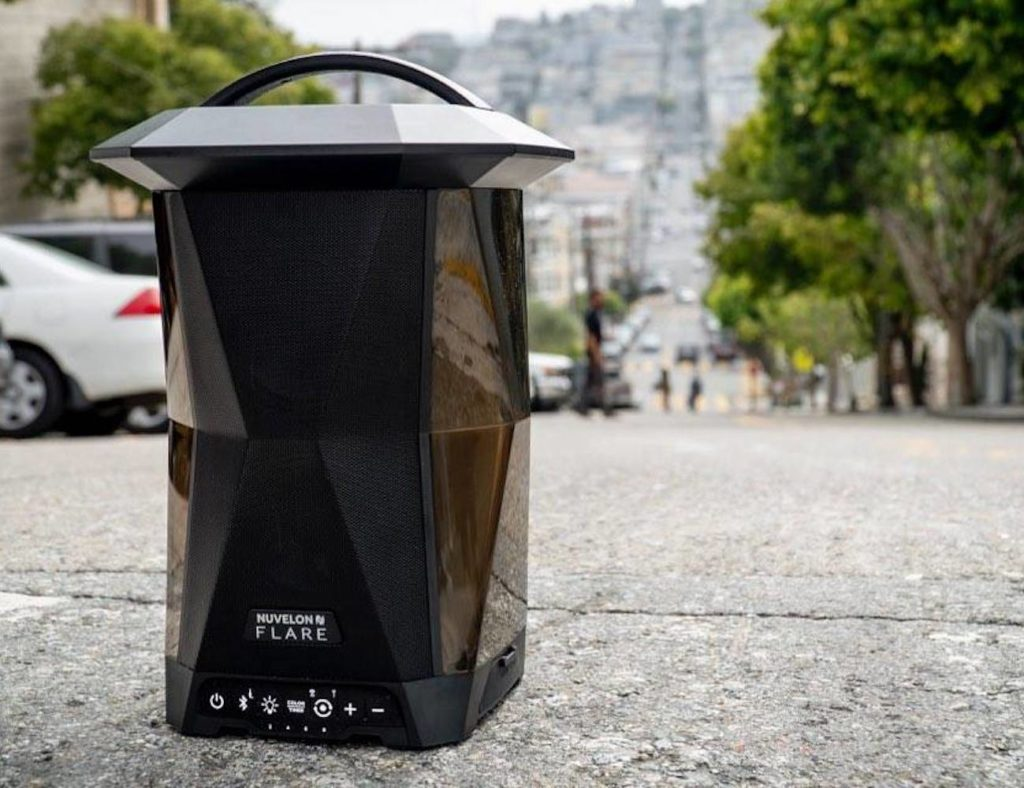 Nuvelon+FLARE+Wireless+Lantern+Speaker