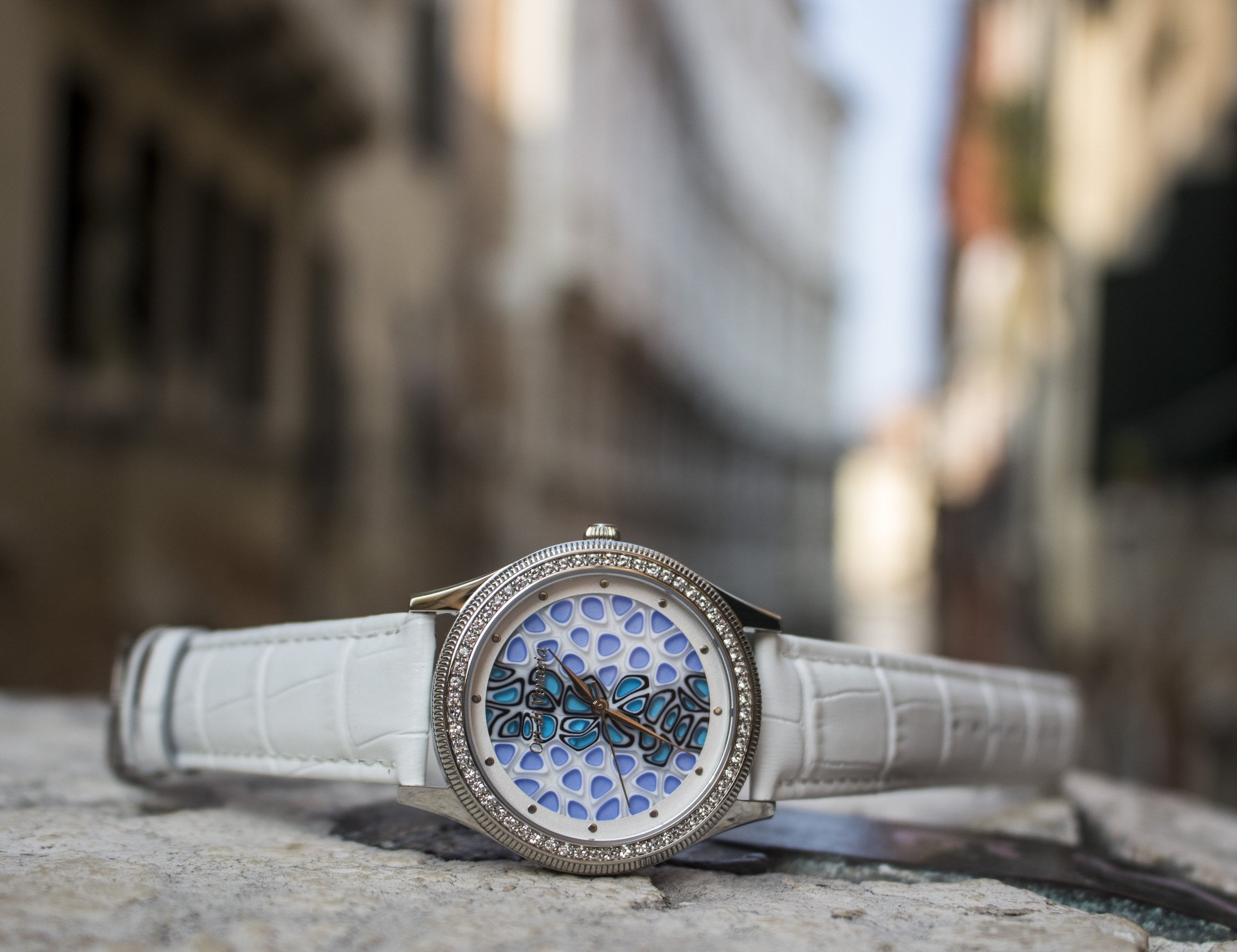 Rialto Collection Handmade Murano Glass Watches