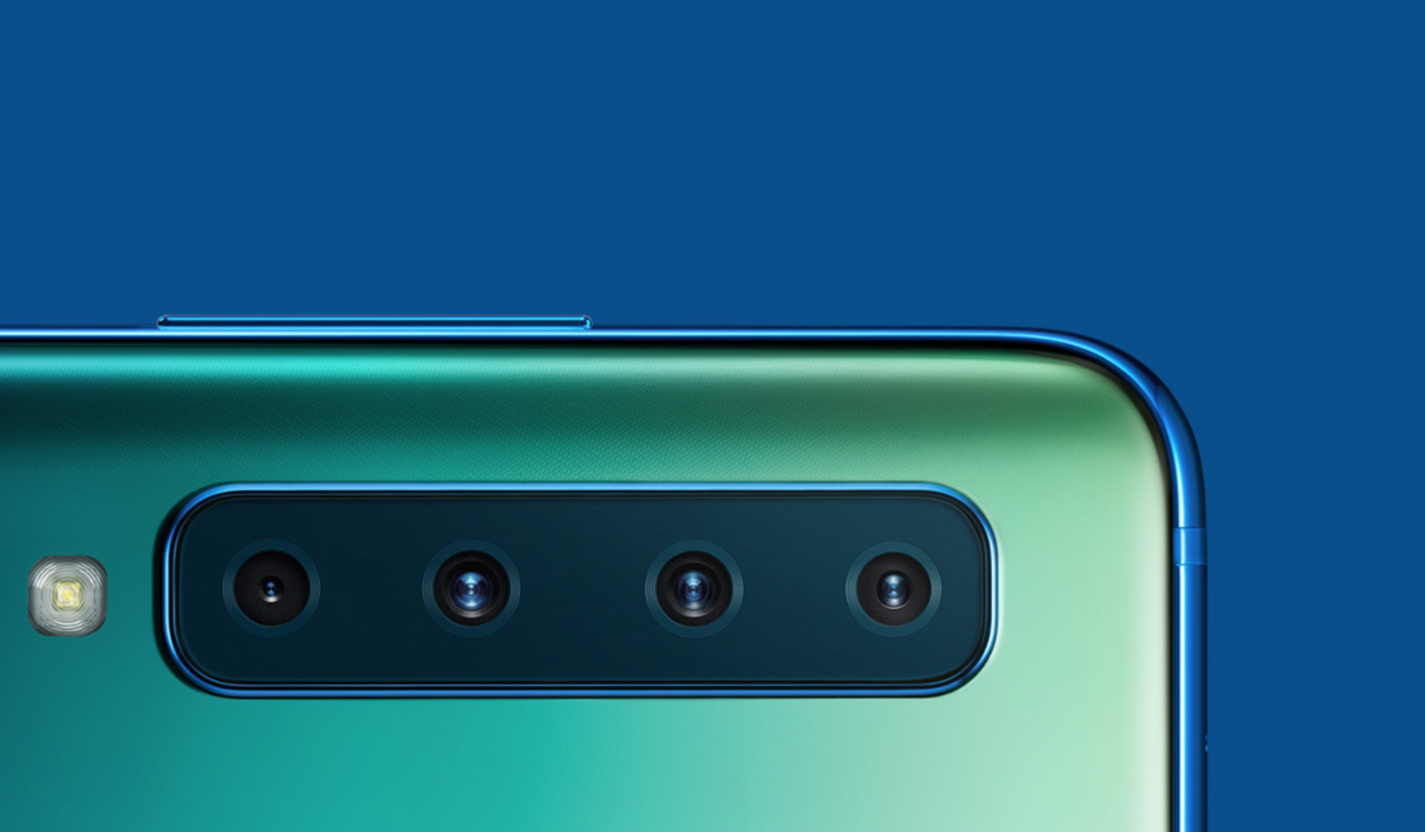 Samsung Galaxy A9 Quad Rear Camera Smartphone