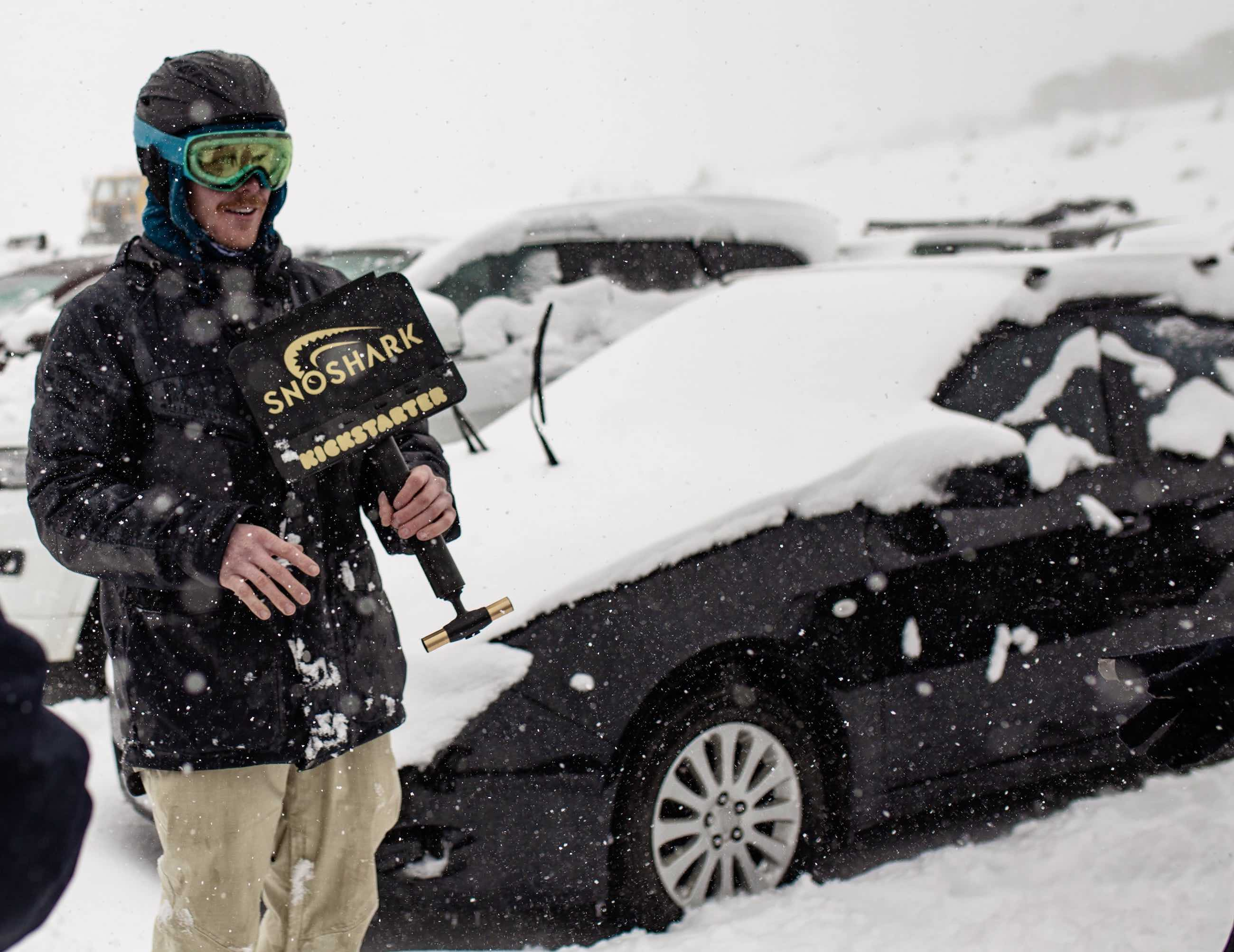 SnoShark Snow Removal Tool