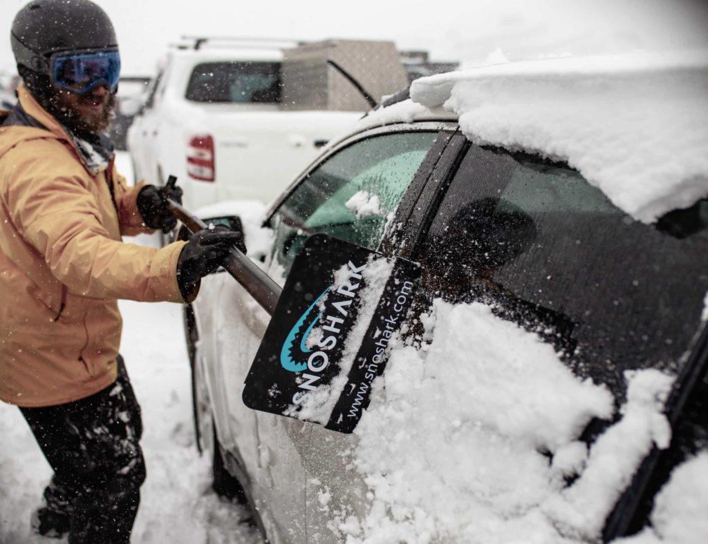 SnoShark+Snow+Removal+Tool