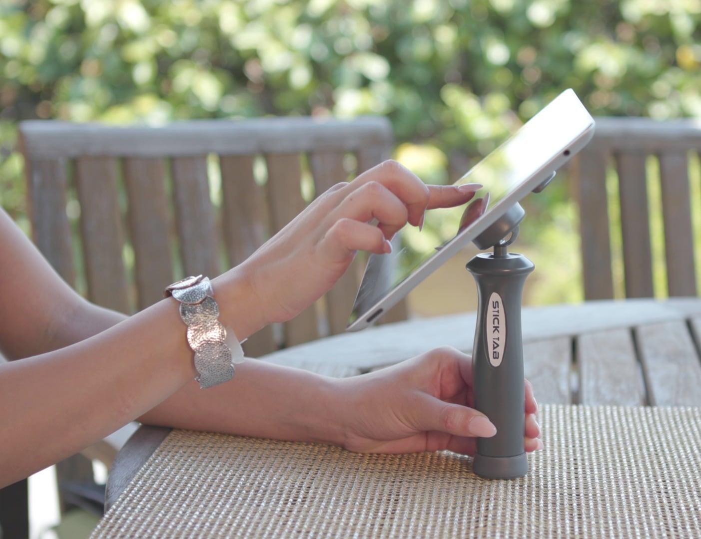 Stick Tab Sticking Tablet Holder