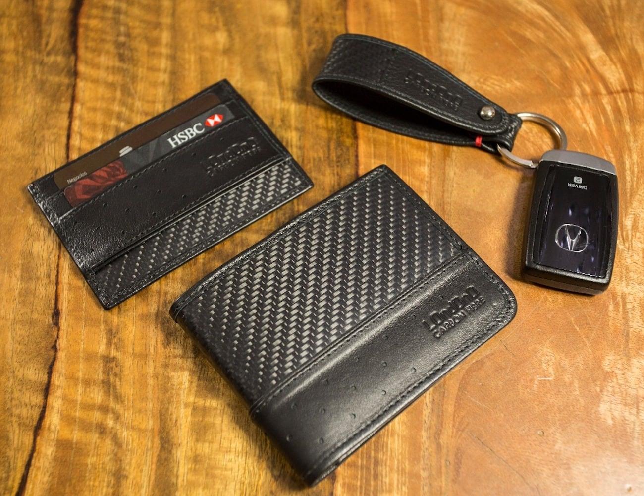 Super Carrera Luxury Carbon Fiber Wallet