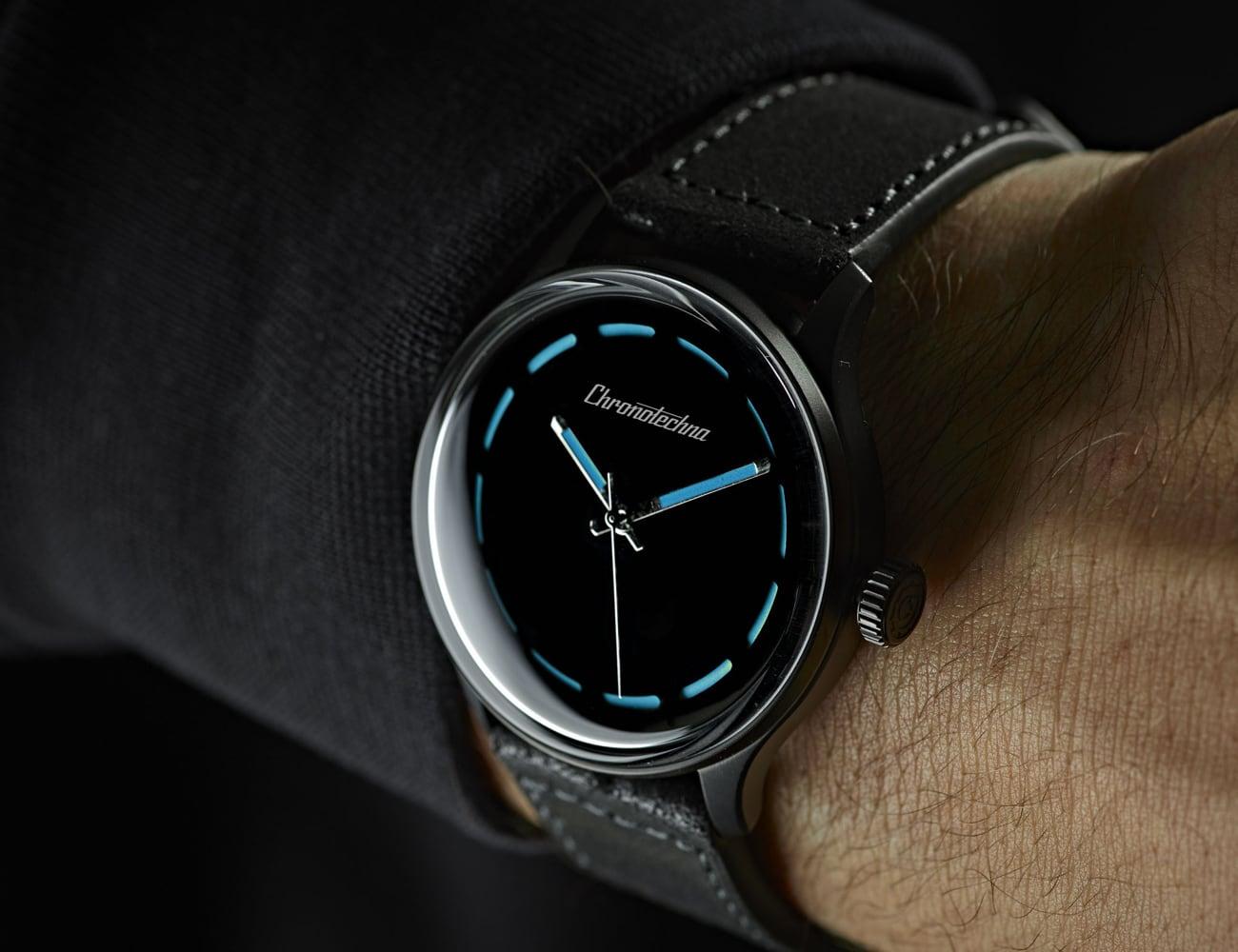 The Blackest Swiss Made Self-Winding Watch