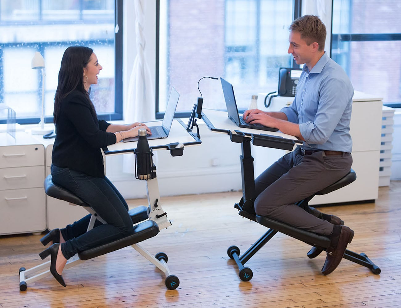 The Edge Desk 2.0 Adjustable Ergonomic Desk