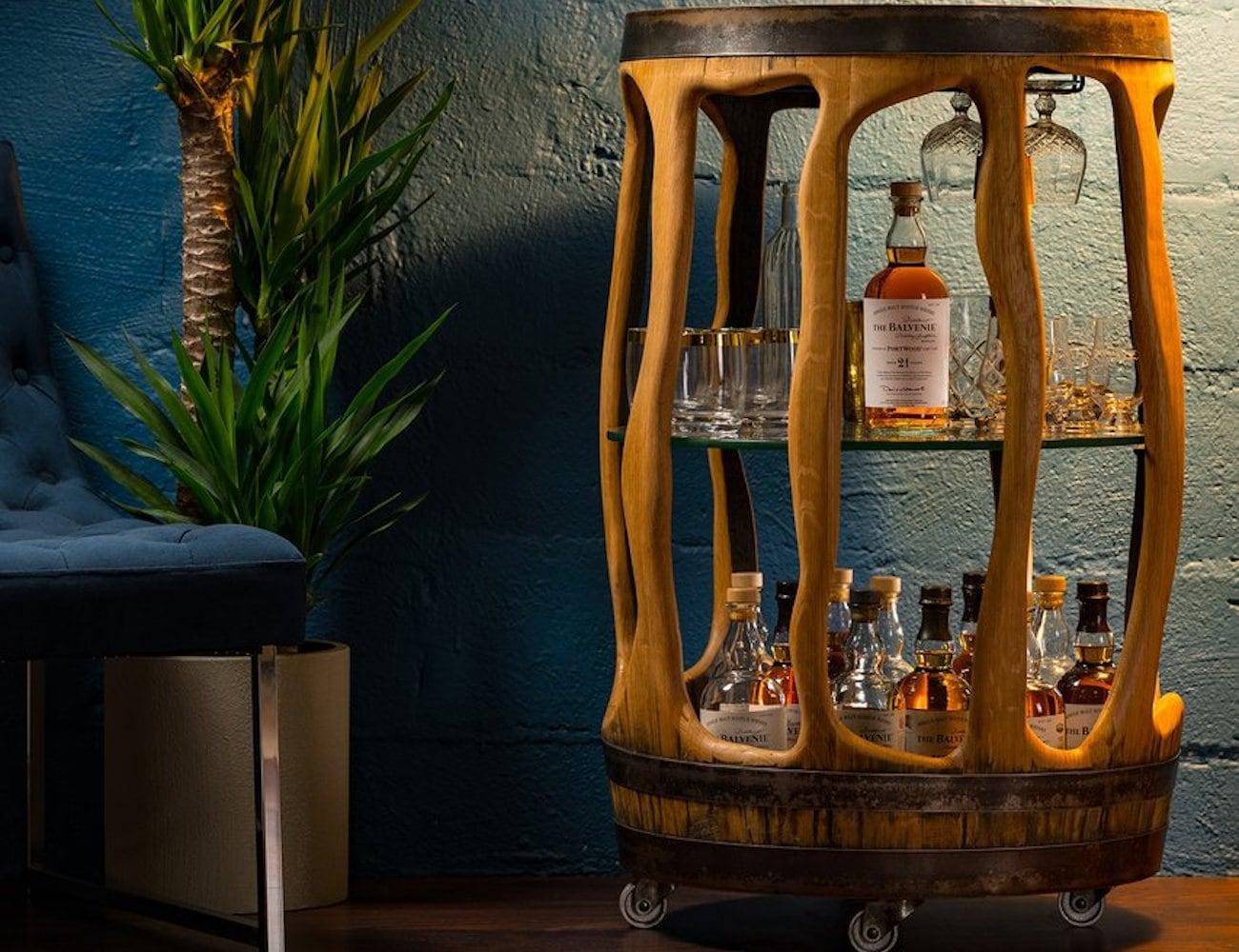 Todd Snyder Balvenie Bar Cart