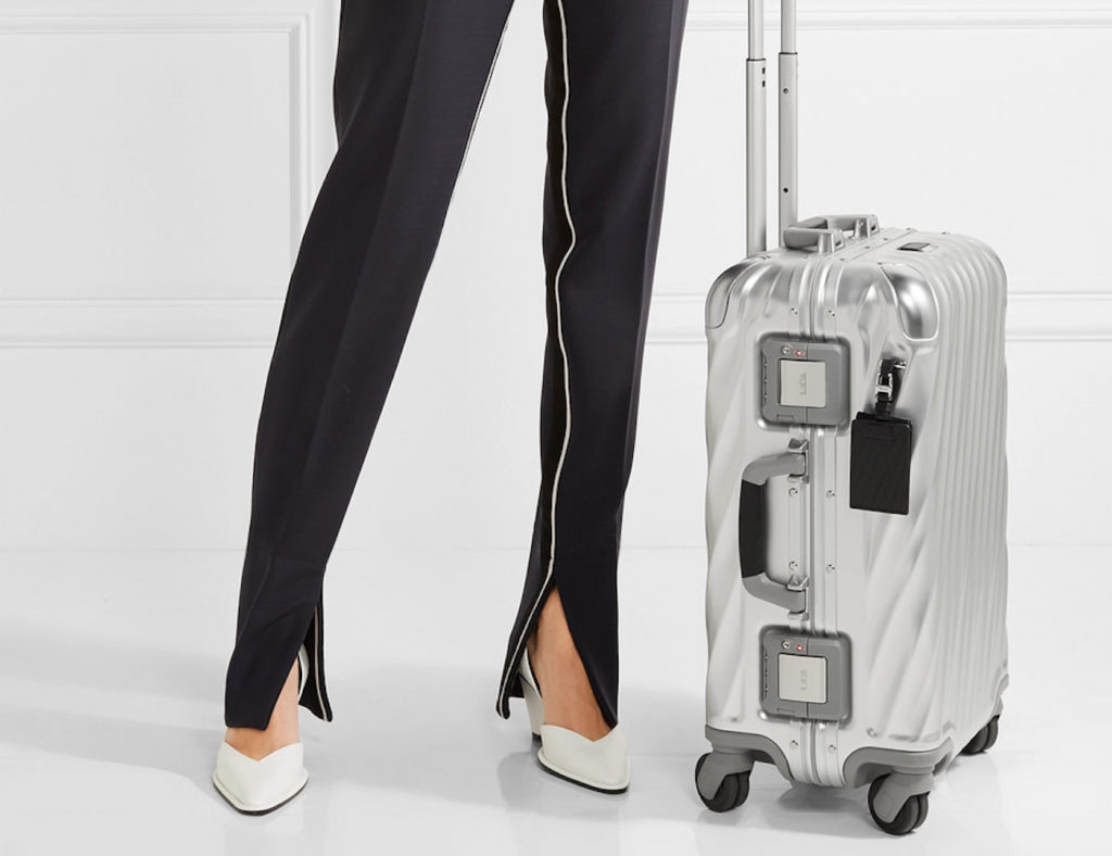 Tumi+International+Carry-On+Aluminum+Suitcase