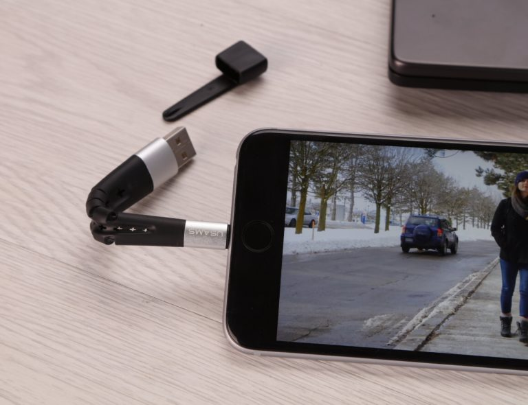 USAMS+4-in-1+Stand+Charging+Cable