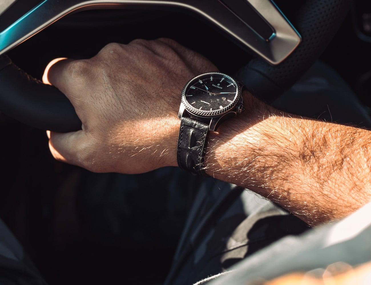 Valimor Caliburnus Hand-Tooled Automatic Watch