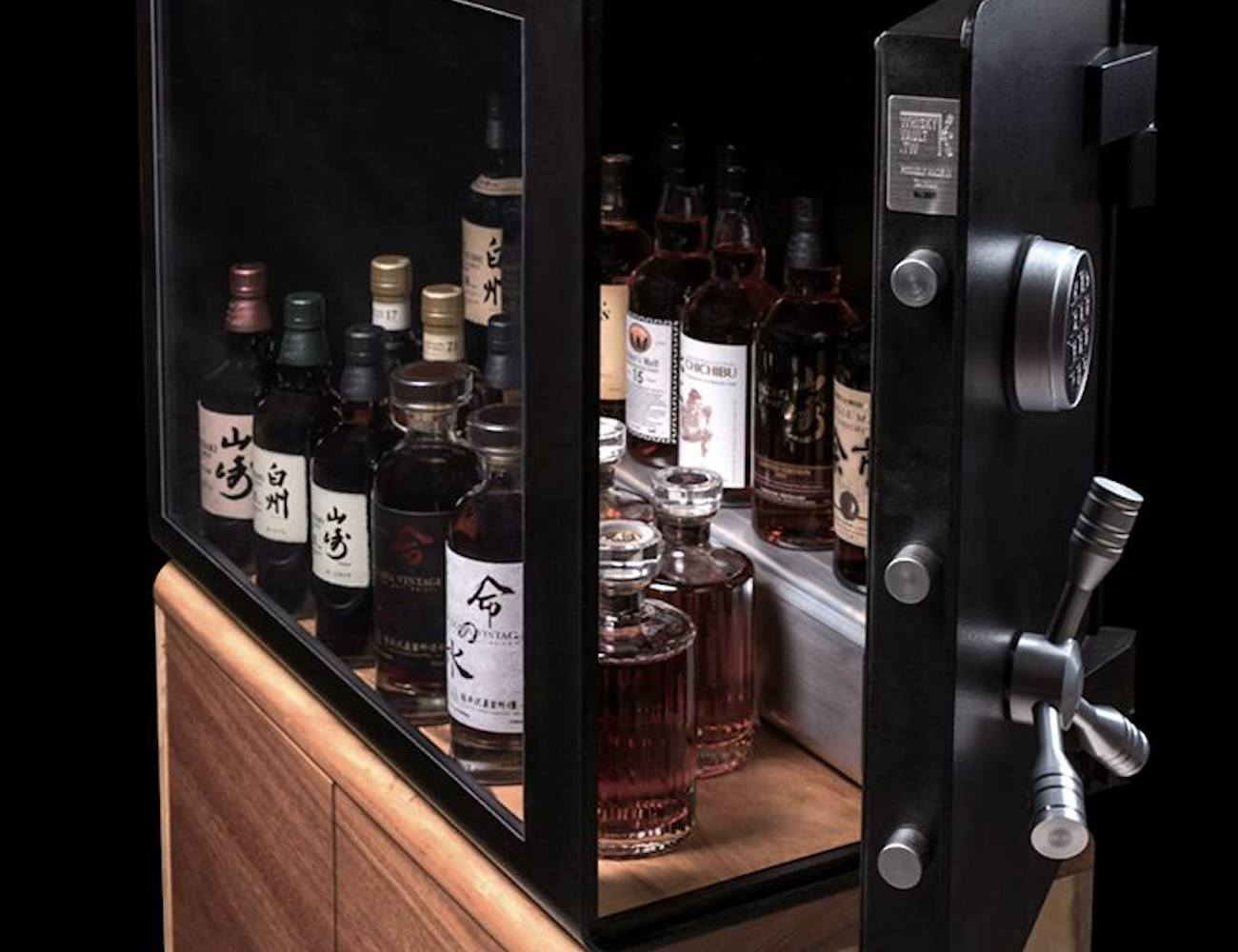 Whisky Vault and Cabinet