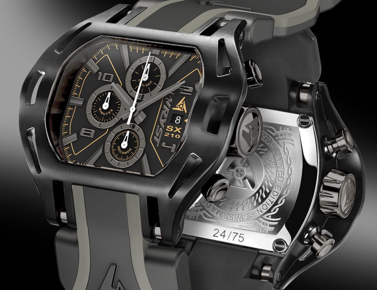 Wryst Force SX210 Limited Edition Swiss Watches